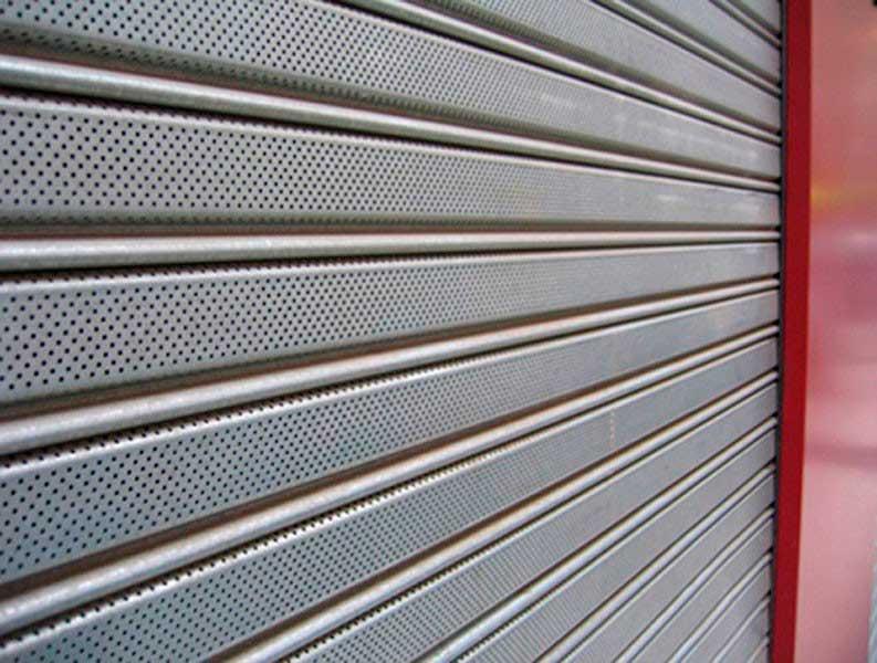 persianas de acero para locales