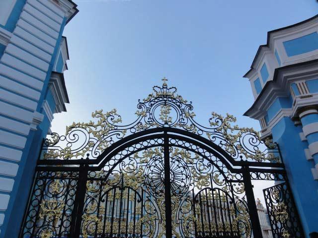 rejas en ventanas de palacios